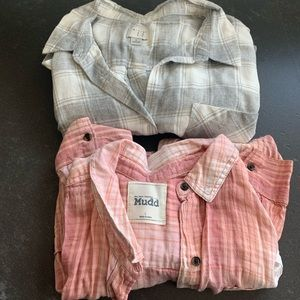 Flannels Lot of 2